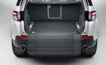 Luggage Partition Half Height Designed to prevent luggage from entering the passenger compartment.