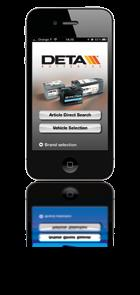 Selecting Battery Finder App Search by car model, VIN or registration number to quickly find the