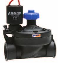 SERIES 80 80-1, 80-3/4 Turf Irrigation Valves Description Electric valve for gardens, parks and golf courses Features and