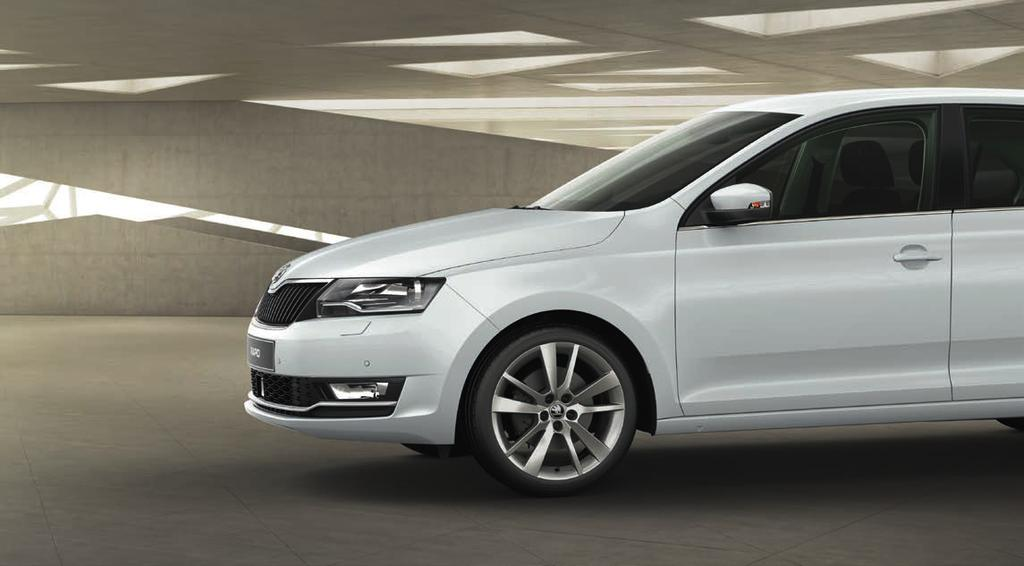 SMALL BIG CAR? OR BIG SMALL CAR? The new ŠKODA RAPID is a car that doesn t like getting labelled.