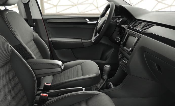 HEATED SEATS In cold weather, your friends or family will appreciate heated rear seats, which are regulated by a separate