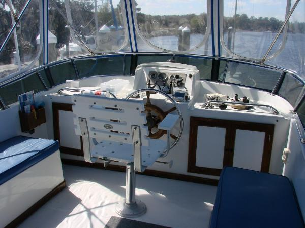 Flybridge Steering