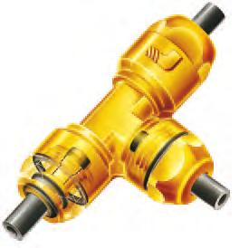 LF 0 Push-In Fittings This fi ttings range dedicated to lubrication and vacuum systems, combines very high performance and manual connection.