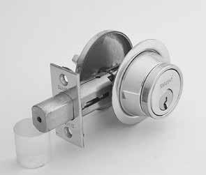 "470 Series Grade 2 Deadbolts Specifications For Doors Door Prep Backsets Strike Cylinder Masterkeying Specification Front 1-3/4"" (44mm) to 2-3/8"" (61mm) door thickness [except 475 with 2-1/16"" (53mm)"
