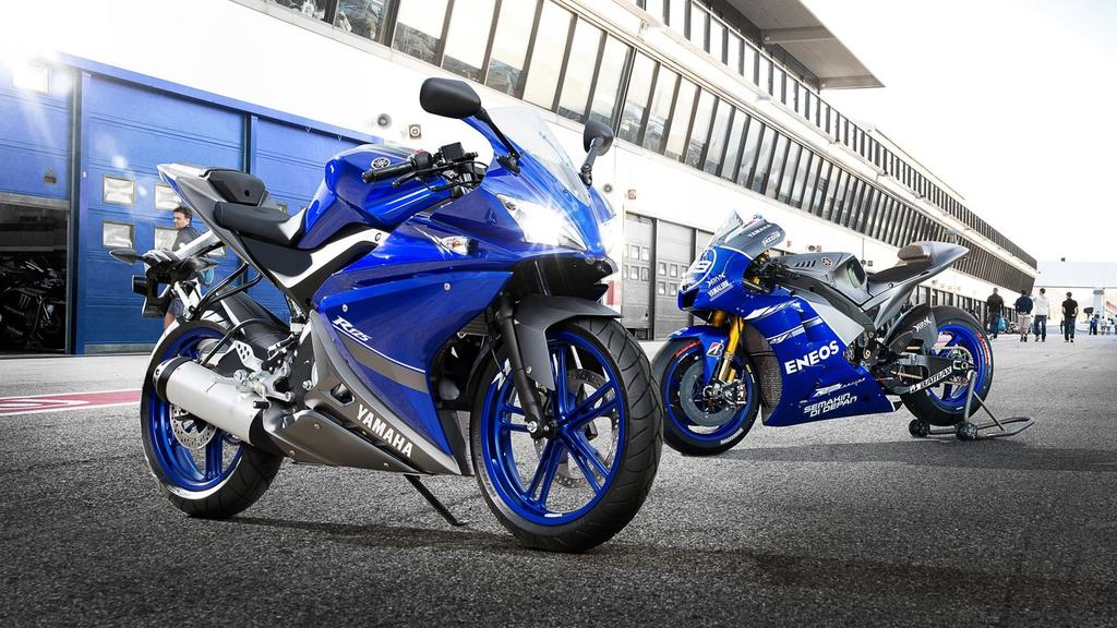 Yamaha 125cc: the all-round experience At Yamaha we believe you get out what you put in.
