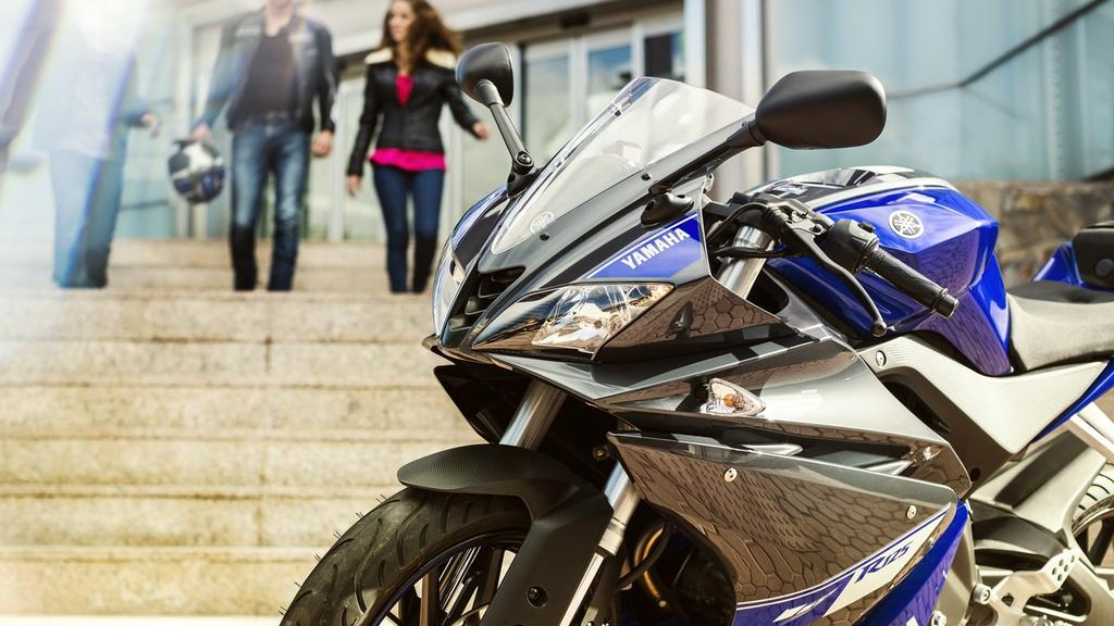 Race-bred technology with R- series DNA At Yamaha we take the 125cc category very seriously indeed.