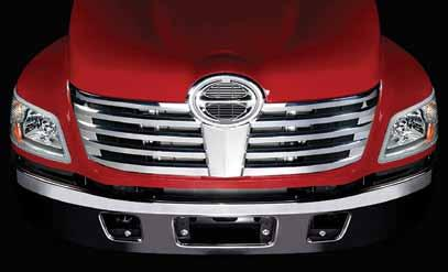 Chrome Grille Chrome Grille Our chrome front grill will complete the look of your Hino.