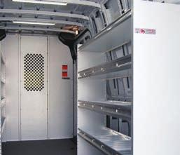 9 FLEET Series Upgrade Package Base 144 WB (low/high) 276M1UP Base 170 WB / 170 Ext WB 276M4UP Note: Cargo partitions