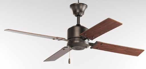 CEILING FANS P2531-20 with Cherry blades P2531-09 with Natural Cherry blades North Park Product No.