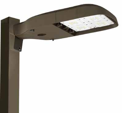 AREA / SITE PCPAE Series ECONOMY SERIES PARKING/SITE LUMINAIRE The PCPAE Series is