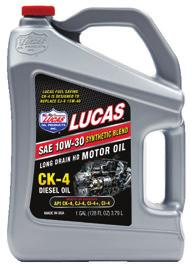 HEAVY DUTY TRUCK OILS HEAVY DUTY CK-4 DIESEL OILS CK-4 is available in Synthetic Blend and Petroleum Longer engine life Extended oil changes Lower soot levels Less filter maintenance Less oxidation