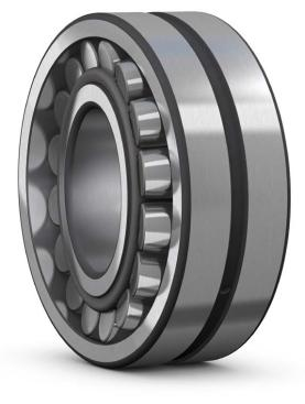 SKF invents the spherical roller bearing SKF introduces the C design
