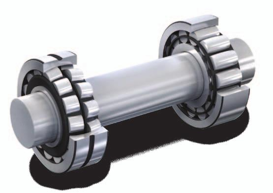 The SKF self-aligning bearing system In the past, applications that had to contend with misalignment and thermal elongation of the shaft used a locating/nonlocating bearing system with two spherical