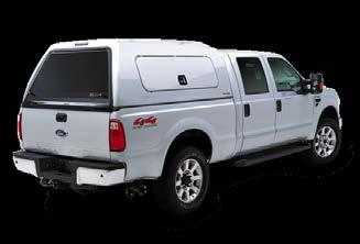 // PRO SERIES The Pro Series is characterized by a half rear door that works in conjunction with your factory tailgate.