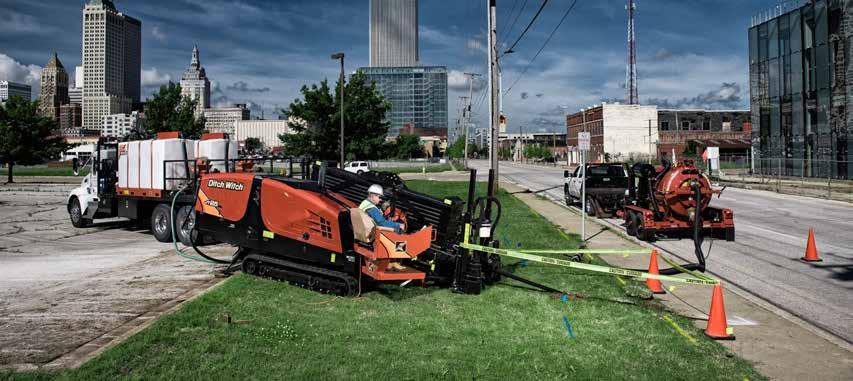 THE DITCH WITCH HDD SYSTEM INCLUDES: HDD TOOLING For your directional drill, we offer a complete line of