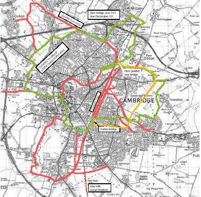 2 1. Cycling and walking a major expansion of the cycling network including and outer circular route, and better connections from Cambridge to