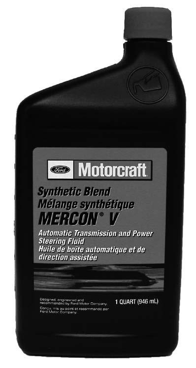MERCON V 1 Qt. 12 (Case Qty.) 189627 Motorcraft Synthetic Blend MERCON V Automatic Transmission and Power Steering is a high-quality automatic transmission fluid recommended by Ford Motor Company.