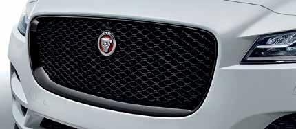 5. GRILLE GLOSS BLACK Gloss Black grille provides a High Gloss Black finish to the grille insert and