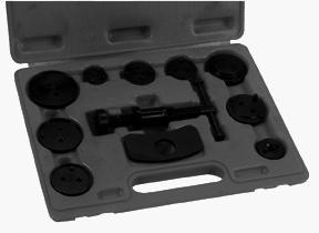 DISC BRAKE CALIPER TOOL SET 40732 ASSEMBLY AND OPERATING INSTRUCTIONS Diagrams within this manual may not be drawn proportionally.