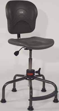 10-3231 BASE DESIGN Performance Plus Accessories Base with optional Casters Loop Armrests Base with 1 top footrest