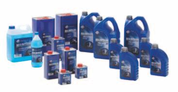 full line of coolant additives, brake fluids, screen cleaners and fuel