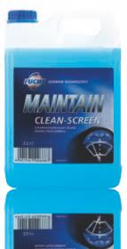 All season windscreen washer fluid additive with cleaning and antifreeze properties. Suitable for use with any type of washer nozzle and polycarbonate screens.
