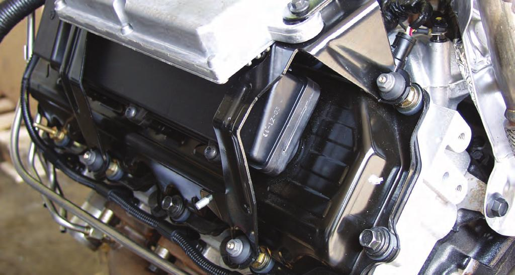 Econoline chasis have the FICM mounted in the engine compartment near the brake booster.