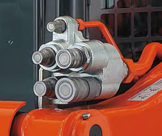 High Flow Hydraulics Having high flow increases the hydraulic muscle for attachments that need more hydraulic