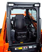 Strong Traction Force Kubota's original track lug design gives you more grip and a stronger traction force of 12178 lbs.