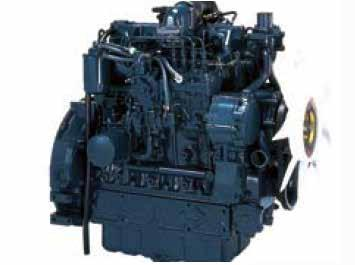 New CRS Diesel Engine The SVL75-2 features Kubota's renowned CRS (Common Rail System) diesel engines which deliver a
