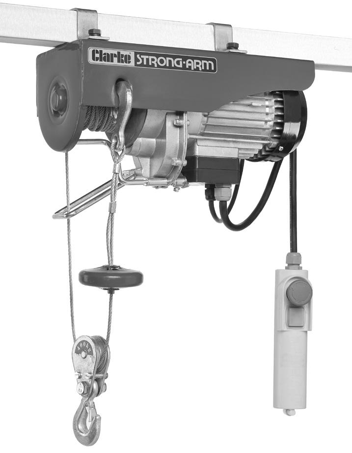 ELECTRIC HOIST MODEL NO: CH2500B,