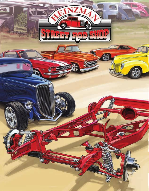 Frames & Chassis Suspension & Brakes Hot Rod and Muscle Car Parts We can HELP