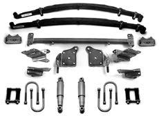 Parts shown in the above kit photo AR-2050 1948-52 Rear shock crossmember kit...$145.