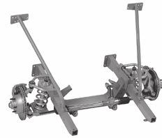 Options include narrowed and polished stainless control arms. CX-320S 1962-67 Sub-frame/crossmember kit... $1200.00 Complete with suspension kit...$2,695.