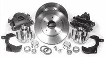 52 1967-81 Camaro Hot Rod Suspension Parts DF-205 DF-211-D 1967-1981 Chevy Camaro Suspension 62-74 Camaro Disc kits for drum brake spindles This ECI brake kit bolts to the stock drum brake spindle