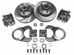 "1948-56 Ford pickup spindles. Includes: brackets, bearings, seals, hardware, rotors, calipers. Specify bolt pattern, 4-1/2"" or 4-3/4"". 1125K 1939-48 Ford car, 1948-56 Ford Pickup Basic Brake kit."