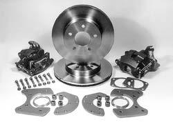 "00 For Heidts 1955-57 Chevy dropped spindles DF-205 11"" Drilled Rotors, polished calipers...$895.00 DF-205-D 11"" Drilled Rotors, polished hubs/calipers.. $1,050."
