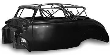 Fiberglass Bodies and Parts 69 1933-34 ROADSTER BODY Please specify options when ordering. A. Firewall: stock, Chevy V8, Ford V8, or big block C. Deck lid: rumble or trunk lid D.