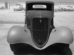 00 Chevy Passenger Car Hoods 1932 with stock side doors...kit $1,950.00 1933 three piece, plain or louvered sides... kit $750.