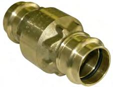 2-10 Figure 431 200 PSI PRESS CONNECTION BRASS IN-LINE CHECK VALVE FOR WATER HIGH