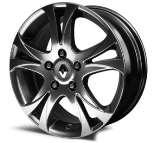 "17"" Plenum alloy wheels 17"" Tenessee alloy wheels 15 Gradiant secure wheel trims 82 01 382 267 (Scénic) Colour: Carbon Look grey. Not compatible with Scénic Xmod."
