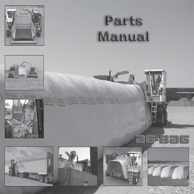 The parts manual is organized into groups, it is designed to make the locating of parts easier.