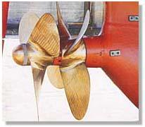 iii- Contra-rotating propellers This kind of propellers has two coaxial propellers sited one behind the other and rotating in opposite directions.