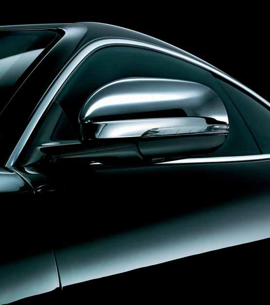 MIRROR COVERS A finishing touch for your XK exterior, these mirror covers come in chrome or aluminum.