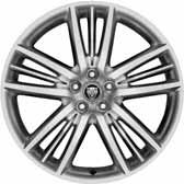 ALLOY WHEELS A stunning complement to your XK s athletic appearance, Jaguar s gorgeous alloy wheels exude performance and style.