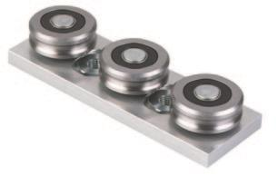 features & BENEFITS Low cost precision Factory adjusted Up to 19 lengths Gothic arch rollers Aluminum alloy body Bearings sealed against contamination