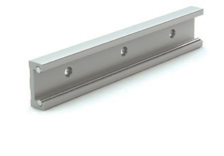 Inch Series rail dimensions Wt. Part # X B (lbs./ft.) RR14 3.5 1.32 0.56 RR18 3.5 1.91 0.85 Note: Rail lengths are available up to 19' (6 m).