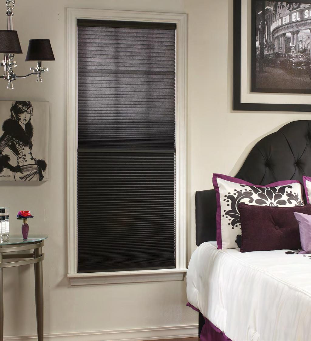 Single & Double Cell Shades The Cellular Shade Collection Elite offers a truly outstanding selection of exquisite cellular shades the perfect choice for rooms where the decorating focus is on