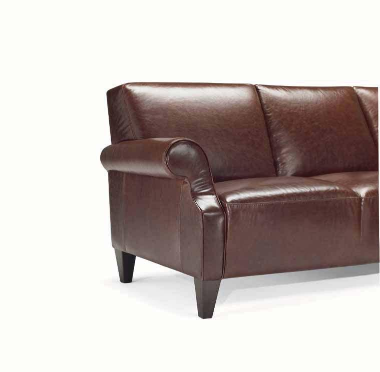 With this compact sofa,