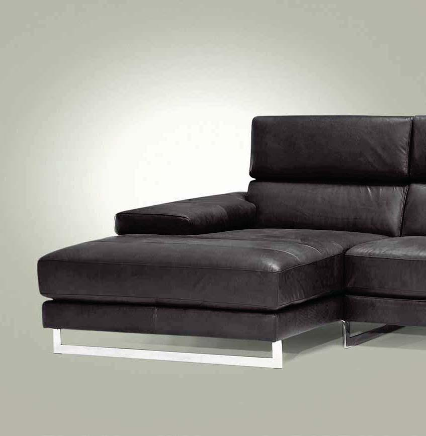 A sofa with contemporary look.